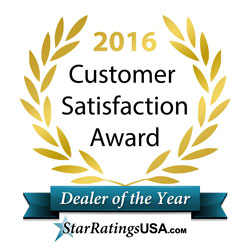 2016 Customer Satisfaction Award